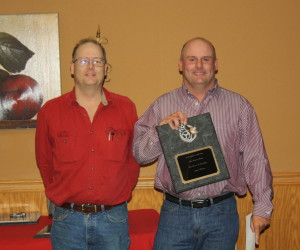 Stacy Holmes was named SAS Car Owner of the Year.