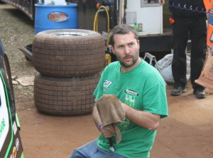 Jimmy Owens' crew chief Chris Fox