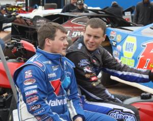 Brandon Sheppard and Jason Riggs
