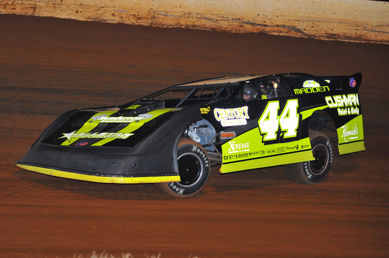 Chris Madden on his way to a lucrative NDRL win at Smoky Mountain.