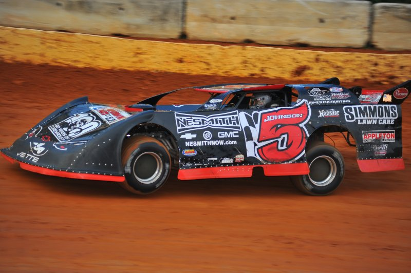 Ronnie Johnson has more wins than any other driver in NeSmith competition.