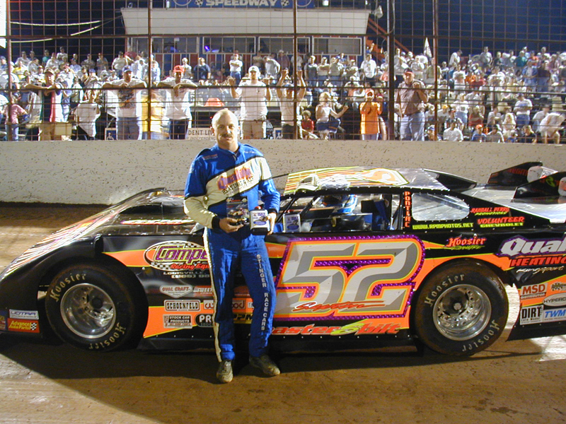 Scott Sexton at Atomic Speedway in 2002.
