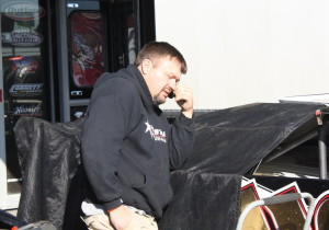 Randy Weaver making a call