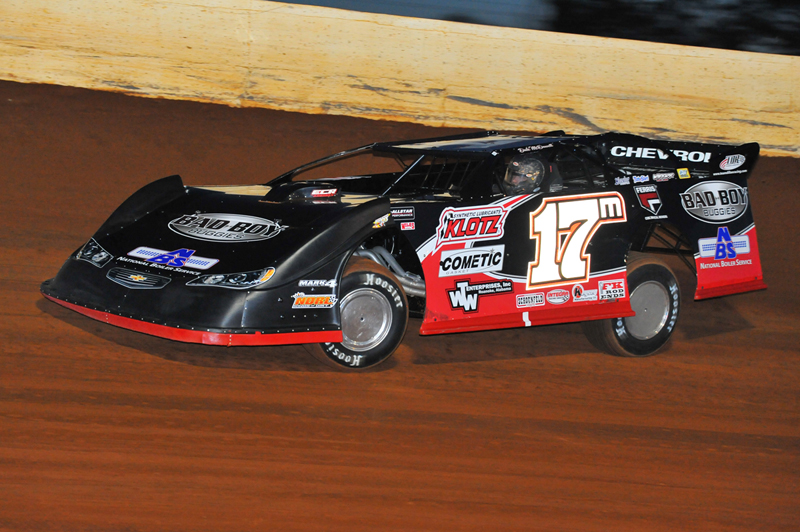 Dale McDowell on his way to victory at Smoky Mountain.