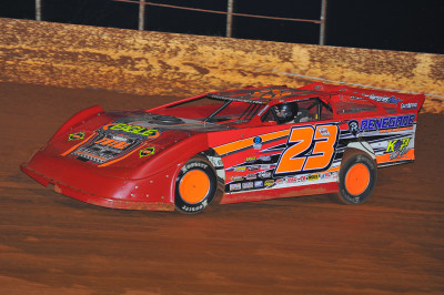 Cory Hedgecock rebuilt his car in time to win on Saturday at Smoky Mountain.