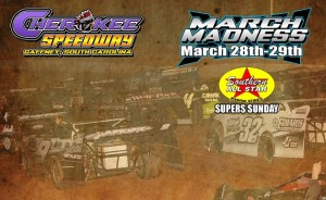 Pre-race Notes: Southern All Stars at Cherokee Speedway(3-29-15)