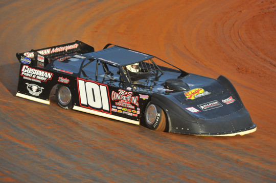 Casey Roberts collected $6,000 for his Smoky Mountain win