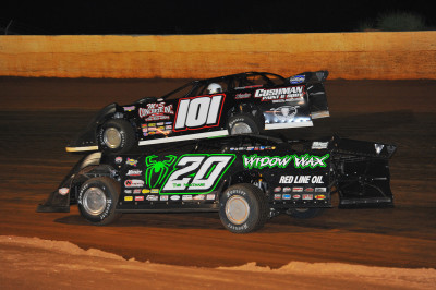 Jimmy Owens offered a late race challenge to Casey Roberts