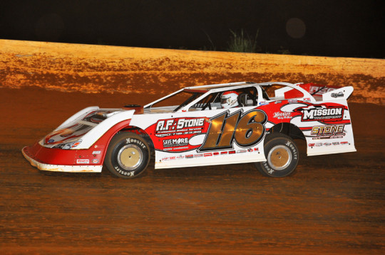 Randy Weaver continued his hot streak on Friday at SMS.