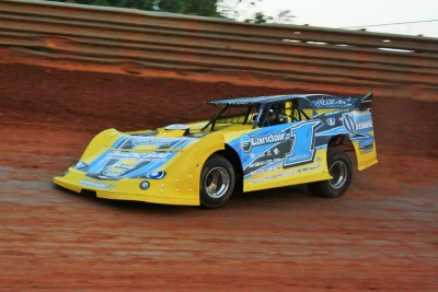 Vic Hill drove a new Longhorn Chassis to the win