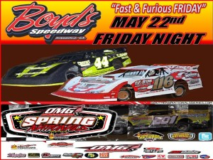 Pre-race Notes: Spring Nationals at Boyd's Speedway(5-22-15)
