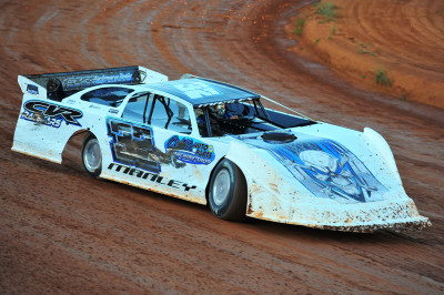 Jason Manley was the Limited Late Model winner at Smoky Mountain