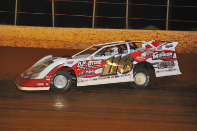 Davenport drove the ride normally occupied by Randy Weaver