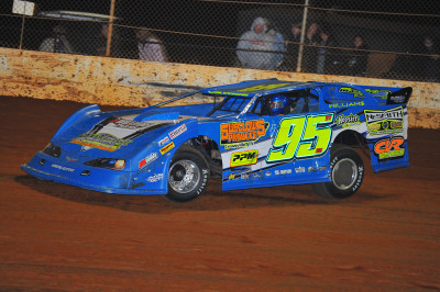 Brandon Williams took the win in the Crate Late Model class