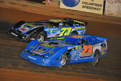 Cory Hedgecock(23) and Trevor Sise are two top Steel Head drivers in the area