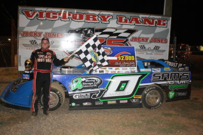 John Ownbey in the I-75 victory lane