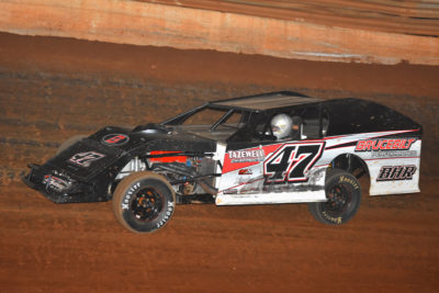 Brad Hall took the checkered flag in the Open Wheel Modified class